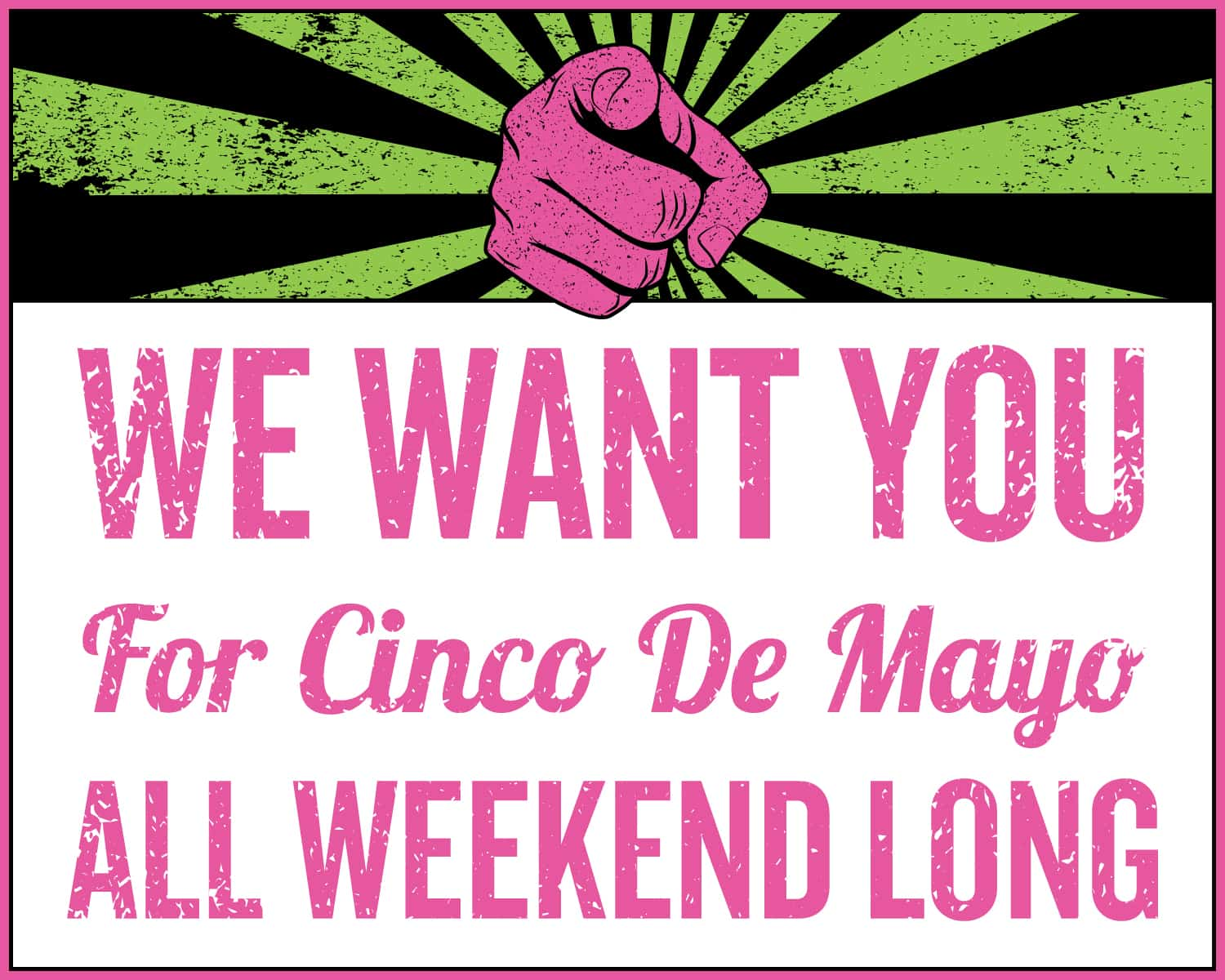 cinco-we-want-you-shout-poster